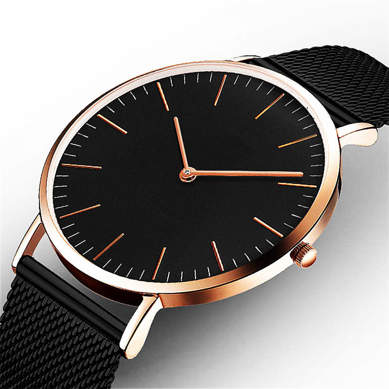 Ctpor Luxury Brand Watches Ingen Logo Menn Kvinner Nøytral Casual Fashion Clock Leather Nylon Quartz Horse Armbåndsur relogio XF1007