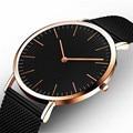 Ctpor Luxury Brand Watches No Logo Men Women Neutral Casual Fashion Clock Leather Nylon Quartz Horse Wrist watch relogio XF1007