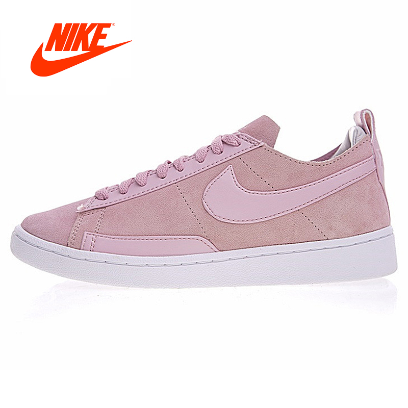 Original New Arrival Authentic Nike BLAZER LOW CS TC Man Pioneer Cherry Powder Skateboarding Shoes Sport Sneakers original new arrival 2018 nike blazer low lthr men s skateboarding shoes sneakers