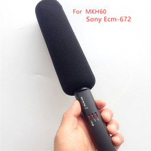 Foam Sponge Windscreen Cover for MKH60 SONY ECM-672  windshield cover microphone diameter 22mm depth 180mm