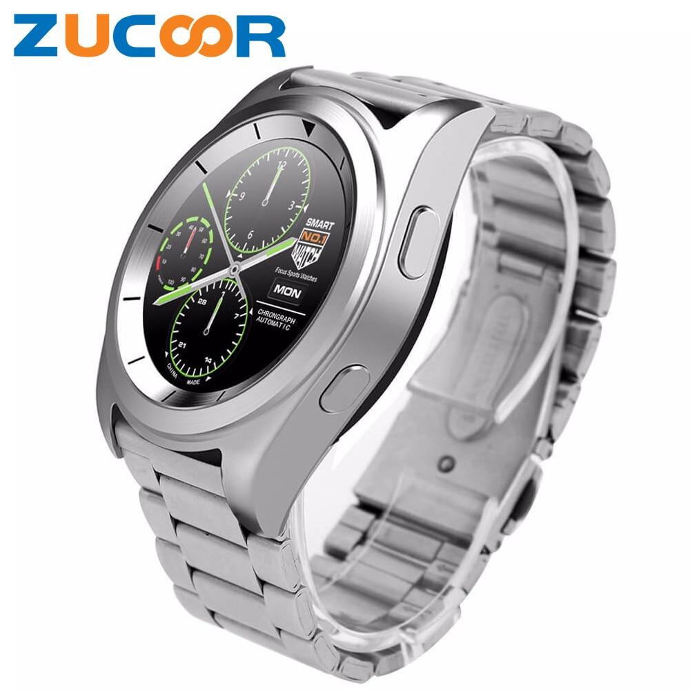 imágenes para Moda ZW35 Reloj Inteligente Reloj Inteligente Bluetooth Podómetro Del Ritmo Cardíaco Del Pulso Del Deporte Impermeable de La Vida Para iOS Android Sony