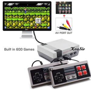 2019 Newest Built in 600 Classic Games Video Retro Console AV Output 8 Bit Mini Family TV Handheld Consola Player