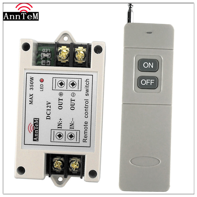 anntem brand rf 1ch remote control high power switch relay rh aliexpress com Coax Relay Switch High Power Pin Diode Switches