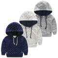 Baby hood sweatshirt 2015 autumn boys clothing  pullover outerwear