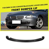 Передний бампер сплиттер для губ для BMW Z4 E85 Кабриолет купе 2 двери 2002 2008 автомобиль Стайлинг Гонки углеродного волокна