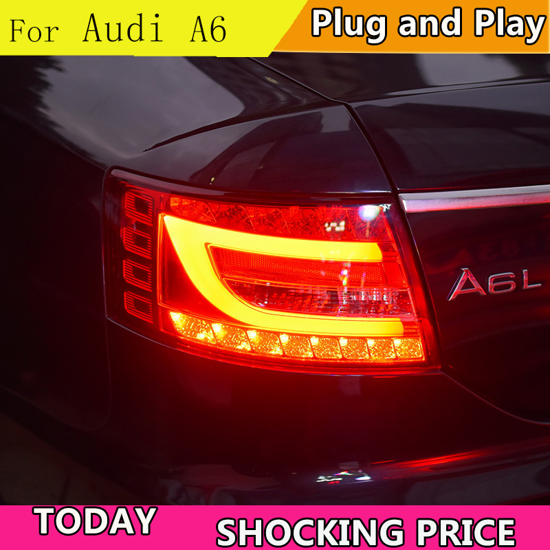 doxa Car Styling Tail Lamp for Audi A6 2005 2008 taillights Tail Lights LED Rear Lamp