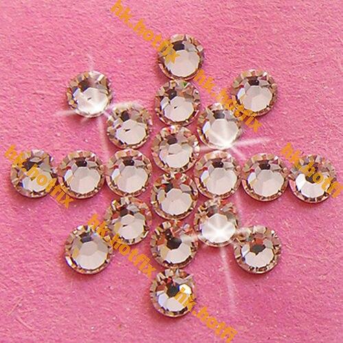 8de96a42eeeb GENUINE Swarovski Elements ss16 Silk ( 391 ) 288 Iron on 16ss Hot fix  Flatback Craft Clear Glass Crystal 2038 Hotfix Rhinestones-in Rhinestones  from Home ...