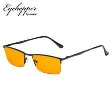 db56f4ad9d9 DS1614 Eyekepper Blue Light Blocking Glasses Half-Rim Computer  Readers-Nighttime Eyewear-Special