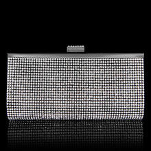 High Quality Rhinestone Crystal Clutch Wallet for Women Luxury Brand Change Oocket Small Feminine Bag Long Wallet Christmas Gift
