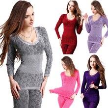 Free Shipping Women's Winter Warm long johns Modal Thermal Underwear Body Shaper Sleepwear Pajamas