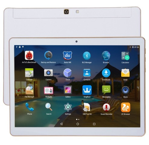 9.6 дюймов MTK6592 Окта основные 4 ГБ + 32 ГБ Android4.4 3 Г Телефонный Звонок Tablet PC, Dual SIM GPS OTG