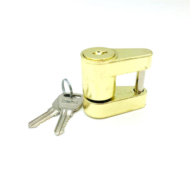 Trailer Coupler Padlock Solid Brass Trailer Locks for Hitch Security Protector Theft Pro ...