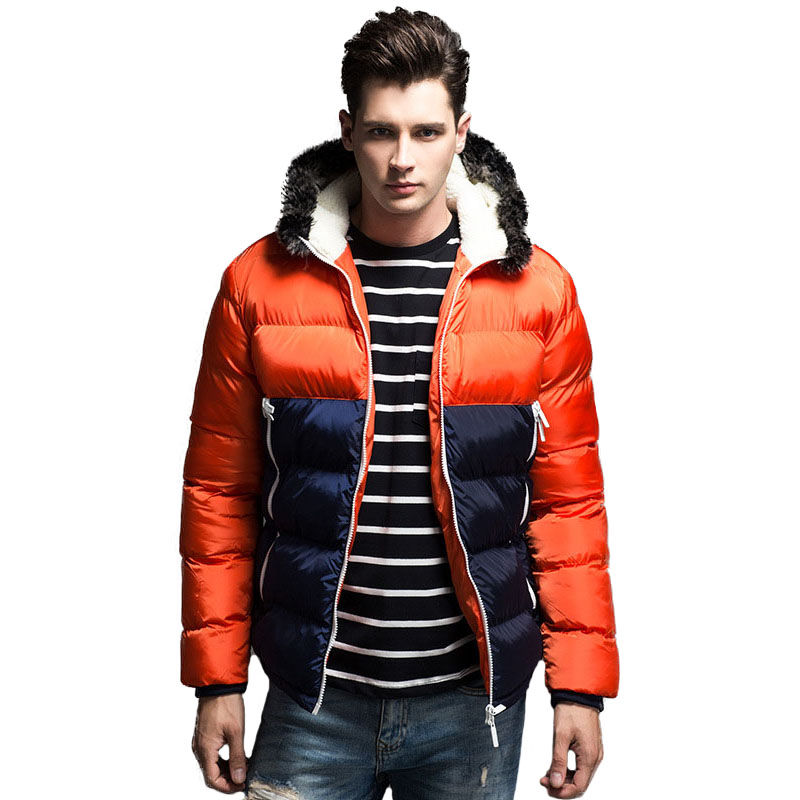 Winter Jacket Men Parka Hooded Zipper Down Cotton Wadded Coat Winter Thick Warm Quilted Jackets Male China Clothing Fashion New new men winter jacket fashion brand clothing cotton padded down parka male thick warm comfortable outerwear coat hood detachable
