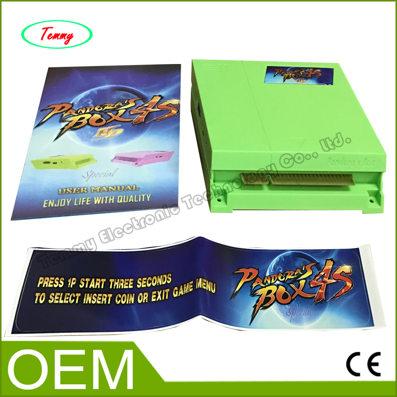 ФОТО multi game cartridge Pandora's Box 4S, 680 in 1 game PCB board for arcade CRT or LCD cabinet