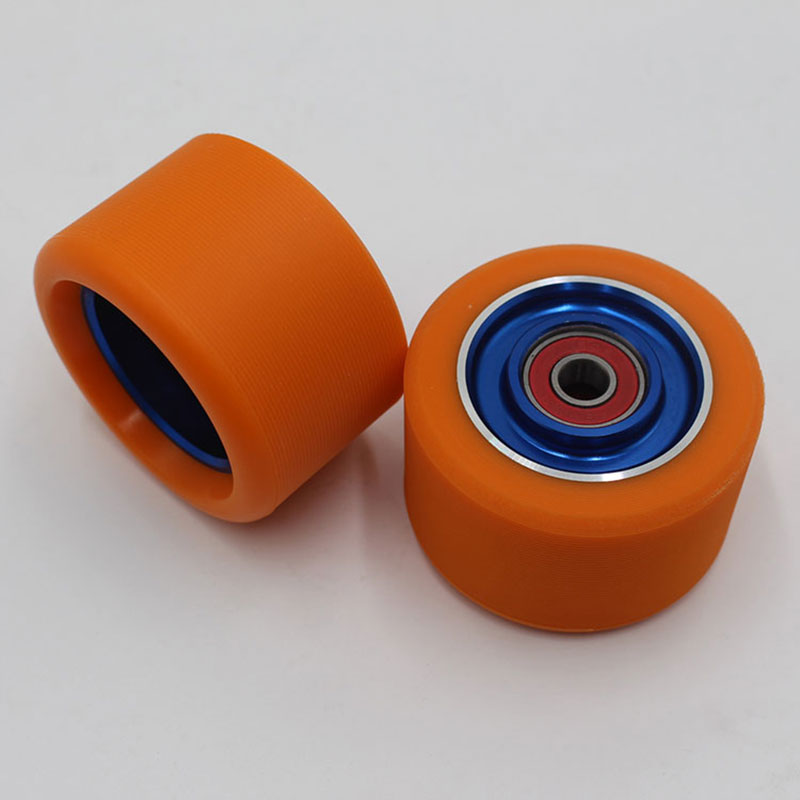 4/8PCS 62*40mm Inline Roller Skates Wheels With 6063 Auminum Alloy Core, High Elastic Wear-resistant PU,608 ABEC-9 Bearings 92A