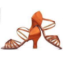 Hot selling Women Latin Dance Shoes Ballroom Dancing Shoes For Ladies Girls women Tango Dance Sneaker Jazz High Heel 11 colors