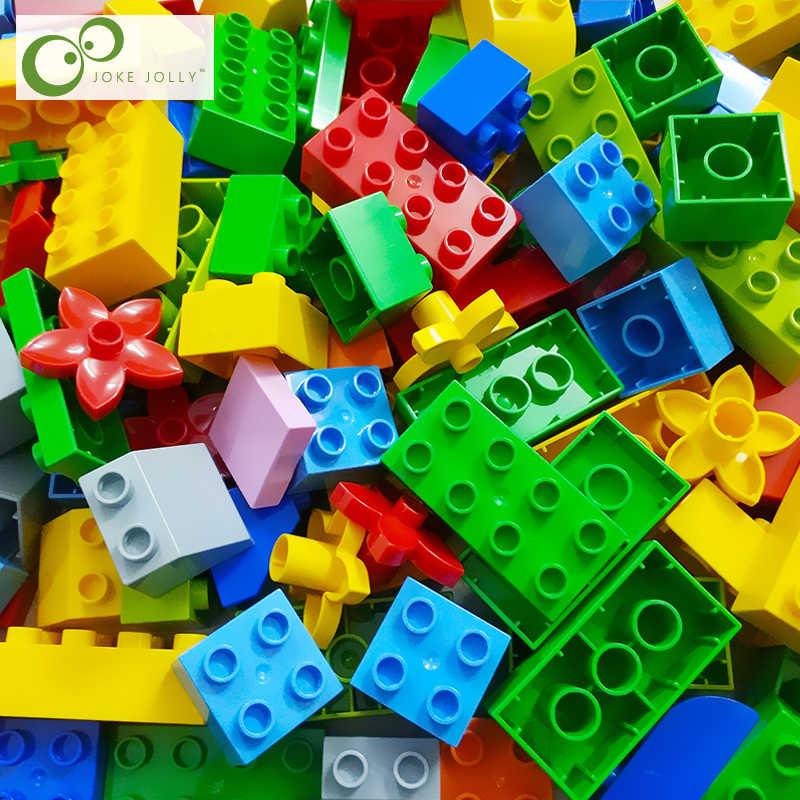 DIY 10 шт./лот основа для макияжа лица кирпичи крупные частицы строительные блоки аксессуары совместимы с Legoing Duploe игрушки детей GYH