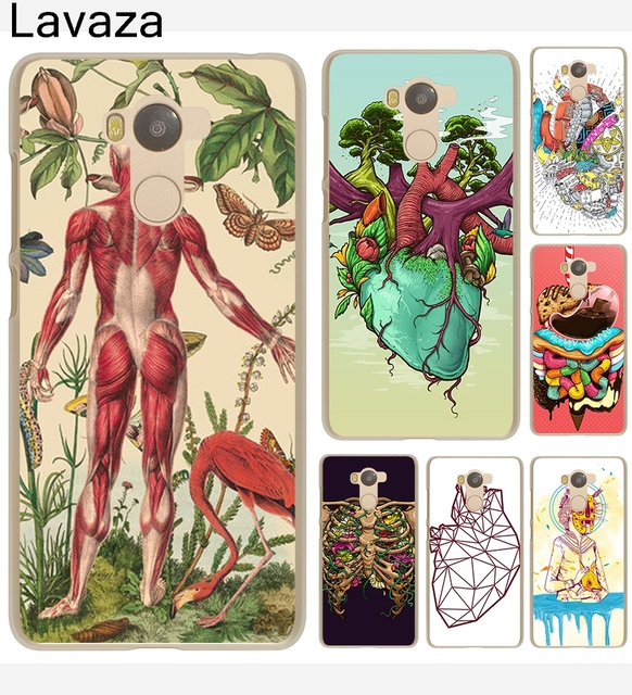 Lavaza Case Designs Human Anatomy Hard Transparent Case Cover For