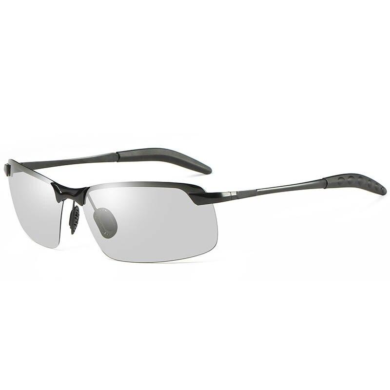 Поляризованные фотохромные Óculos De Sol Брендовая дизайнерская обувь для вождения Рыбалка очки полукадра Для мужчин солнцезащитные очки Gafas ...