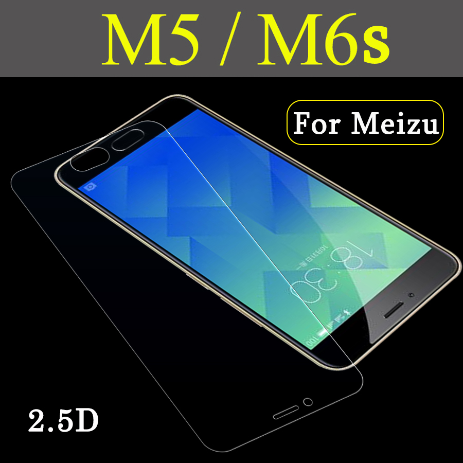 Protective glass for Meizu m5 m6 note film tempered glas meizy meuzu m6s 6m 5m not screen protector maisie mei zu m 6 5 s tremp image