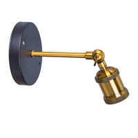 Châu âu Phong Cách E27 Antique Retro Đèn, Đèn cổ điển E27 chủ Socket Brass Đèn Led Đèn Cơ Sở Tường Cơ Sở Ánh Sáng 2 Màu để Lựa Chọn