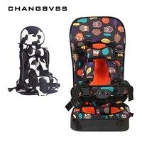Cute Cartoon Design Toddler Baby Child Car Seat Portable Travel Kids Car Seats For 6M 5