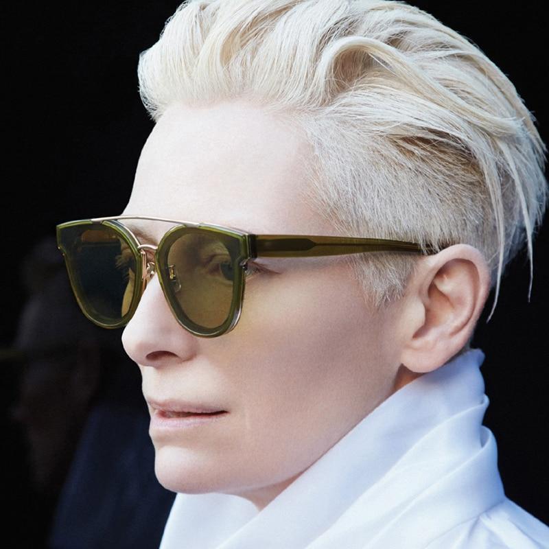 Pop Age New Fashion Sunglasses Women Brand Designer Celebrity Square Clear Green Red Yellow Sunglasses Eyewear Oculos de sol