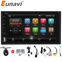 Quad Core 2 Din Pure Android 6 0 Car DVD Player Navigation Stereo Radio GPS WiFi