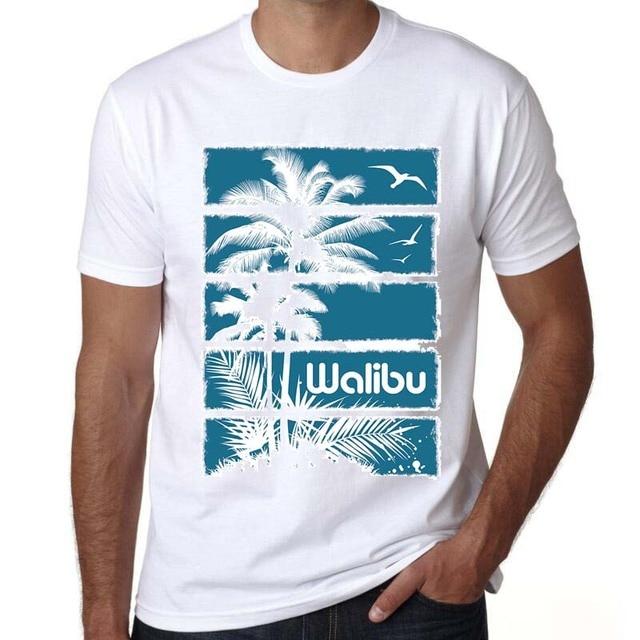 Amantes 2017 Verão mens camisas surfista Moda Prancha de surf de Ondas De  Folha De Palmeira 0911591835e