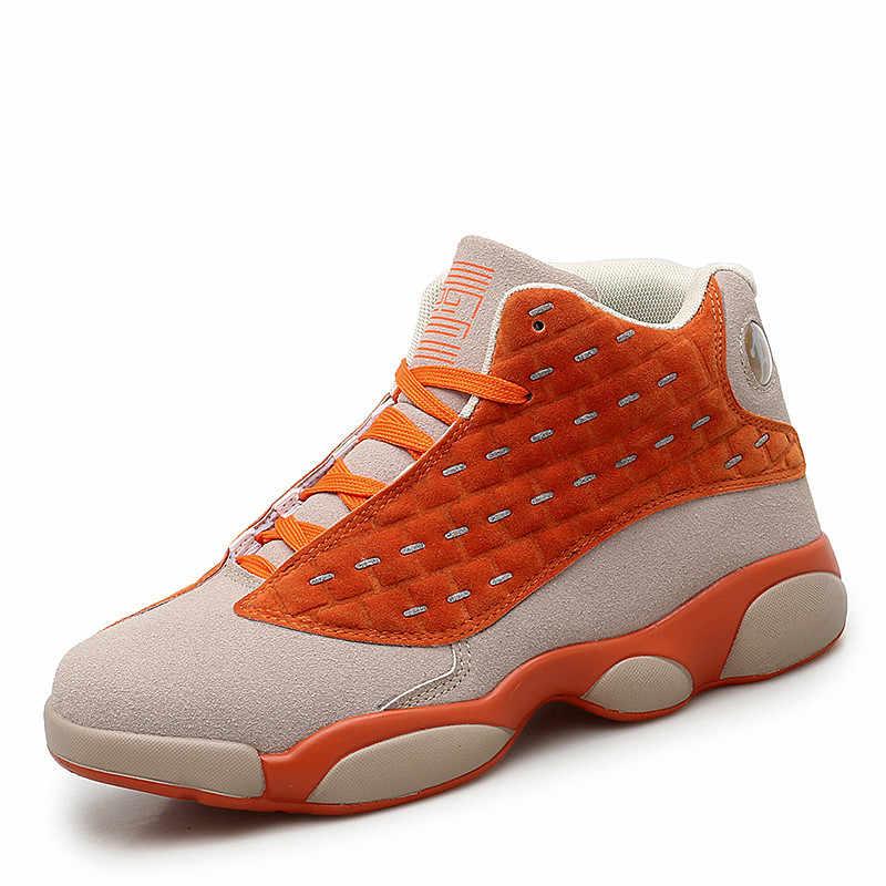 VSIOVRY Novos Tênis de basquete Homens Jordan Mulheres Sapatas Do Esporte Das Mulheres de Camurça Respirável Ginásio Calçados Das Sapatilhas Dos Homens de Amortecimento Tênis de Basquete