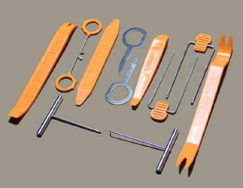 12 шт., набор инструментов для снятия магнитолы