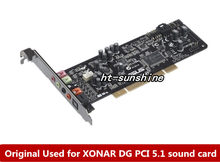 Original Used for ASUS XONAR DG PCI 5.1 sound card,100% tested good!(China)