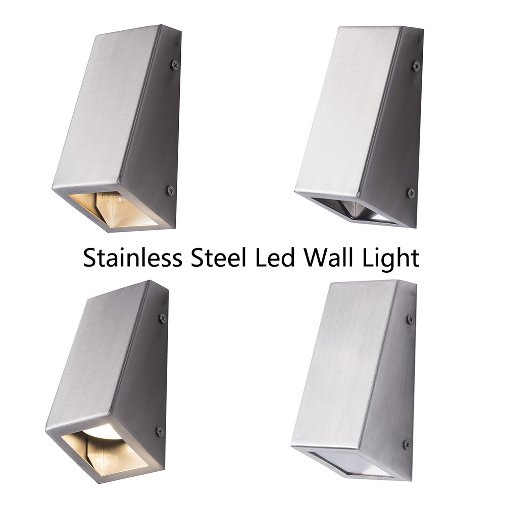 Led Wall Light fixture for GU10 spotlight bathroom lights modern bedside lamp down Decorative for home background stairway lamp in LED Indoor Wall Lamps from Lights Lighting