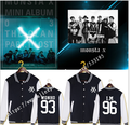 MONSTA $X album Sun Xuanyu teem show IMCai Hengyuan zhou li xian with fleece baseball uniform