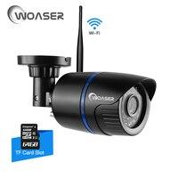 WOASER 1 0MP WIFI IP Camera Waterproof HD 1280 720P Network Wifi Camera Day Nignt Vision