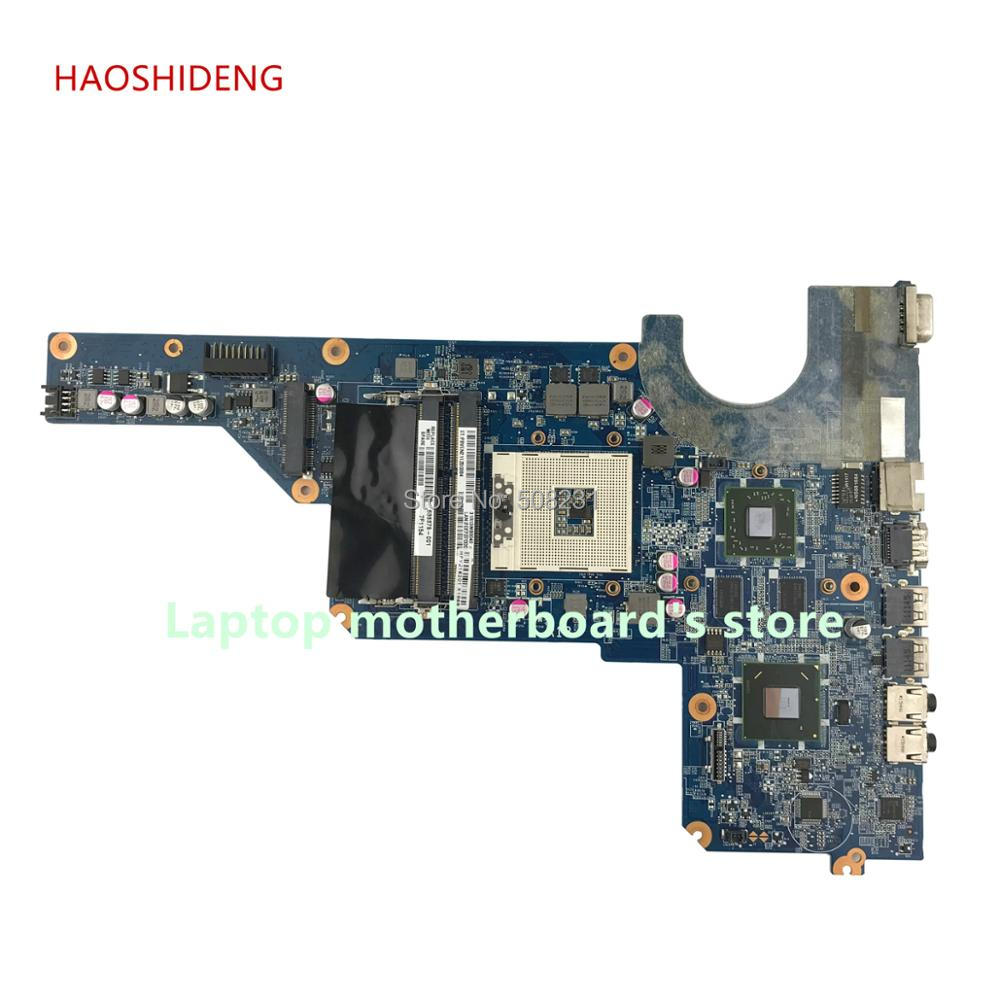 HAOSHIDENG 650199-001 636375-001 650198-001 R13 mainboard for Pavilion G4 G6 G7 G4-1000 G6-1000 motherboard HM65 fully Tested дроссель с изу galad 1и 1000 днат 46 001 01535