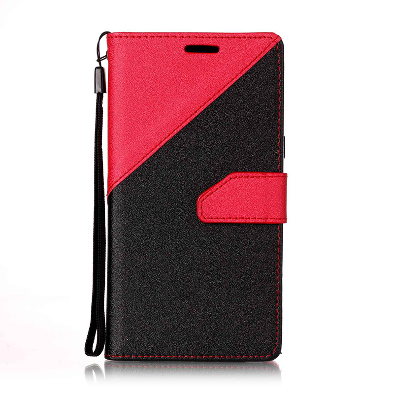 Galleria fotografica Karribeca Flip PU Leather case for Samsung galaxy A5 2016 dual color wallet cover samsung a5 2016 A510F A510M coque etui kryty