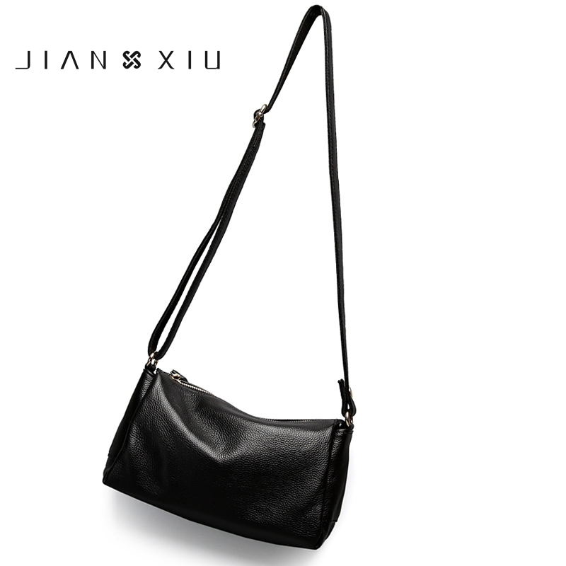 JIANXIU Brand Women Messenger Bags 100% soft Genuine Leather Fashion Ladies Cow leather shoulder bag Women Crossbody Bags Female цена в Москве и Питере