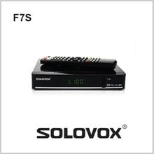 2017 HOT SOLOVOX F7S DVB-S2 HD Receptor de Satélite Soporte CCCAMD Rueda TV NEWCAMD Con 6 meses código 170 + REINO UNIDO VIVE canal