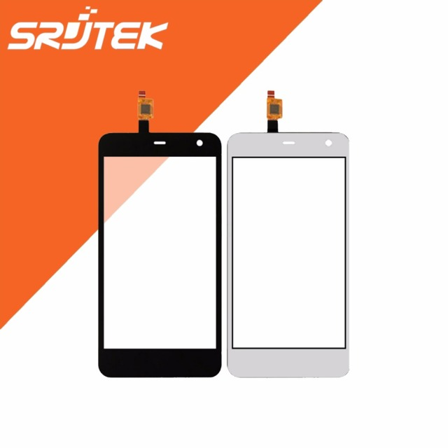 High Quality 5.0 inch Replacement Touch Screen for ZTE Blade A465 Glass Panel Digitizer Black / White