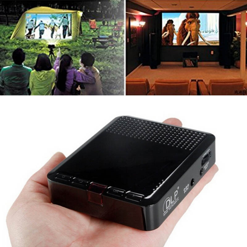 Mini Portable Cinema Multimedia For Iphone Laptop PC Home Theater hot sale 18mar20
