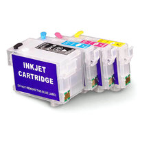 T2711 Empty Refill Ink Cartridges For Epson Workforce WF7110 WF7610 WF7620 WF-7710 wf-7715 wf-7210 WF-3620 WF3640 with chip t2711 t2701 empty refill cartridge for epson workforce pro wf 3620dwf wf 3640dtwf wf 7110dtw wf 7610dwf wf 7620dtwf with chip