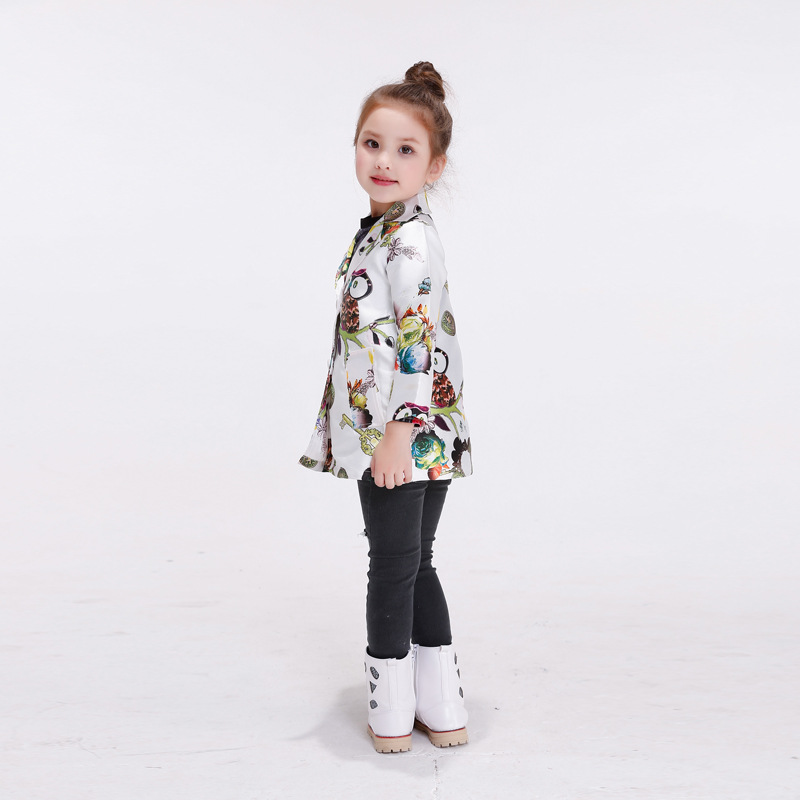 7e54b7369 Girls Trench Coat Children Coat New Baby Girl Coats And Jackets ...