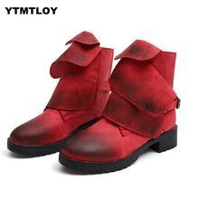Plus Size 35-43 Sapatos Bota De Couro Das Mulheres de Alta Qualidade de Inverno das Mulheres Na Altura Do Joelho Botas de Neve Botines Mujer Bota rojas Feminina Mid-calf