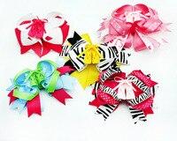 5 sztuk 5 cali baletki z akcesoria do włosów hair bows boutique dla dziewczyn