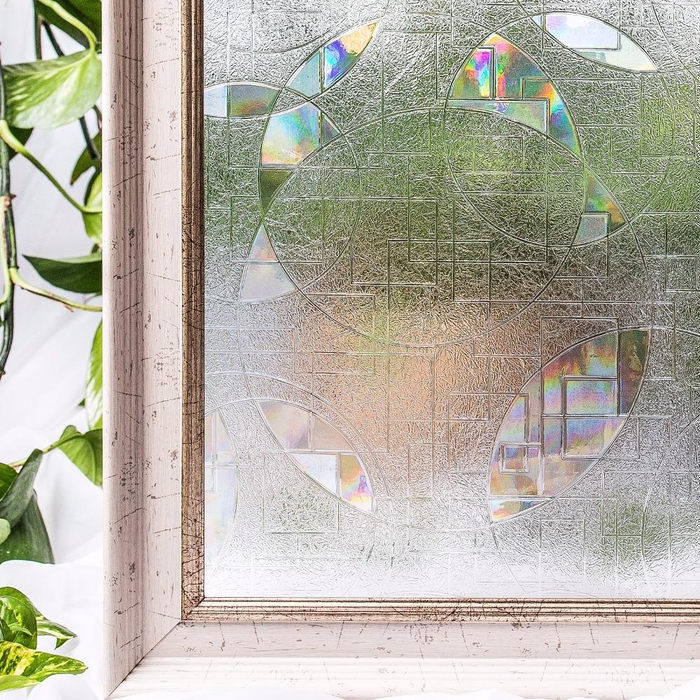 CottonColors Salle De Bains Glasse Couverture PVC Fenêtre Film - Décor à la maison - Photo 1