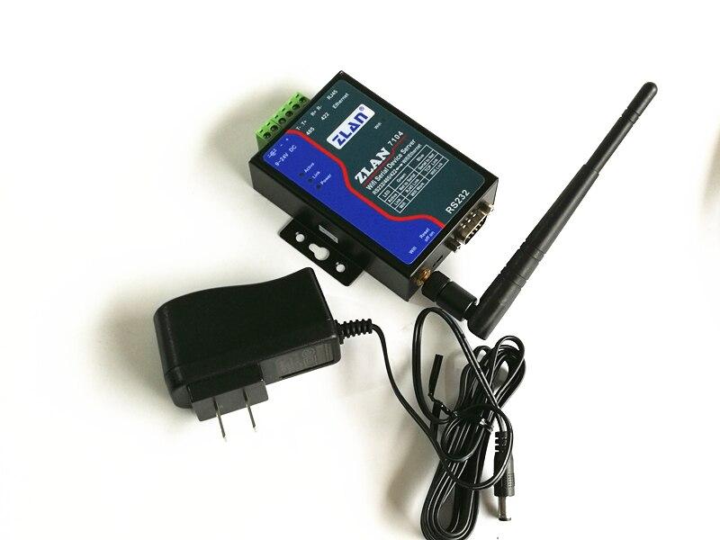 Module WIFI wifi RJ45 Ethernet vers RS232 RS485 RS422 convertisseur serveur de périphérique série sans fil pour télécommande PLC zlan7104