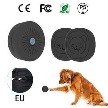 Pet Dog Training Doorbells  Wireless Door Bell Multifunction Sensor  Bell Training Tool