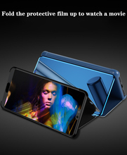 Smart Mirror Holcase phone Cases For Samsung S7 S8 S9 S10 Plus Note8/9 A5 A7  All-inclusive Clamshell Fashion Holder Case NEW