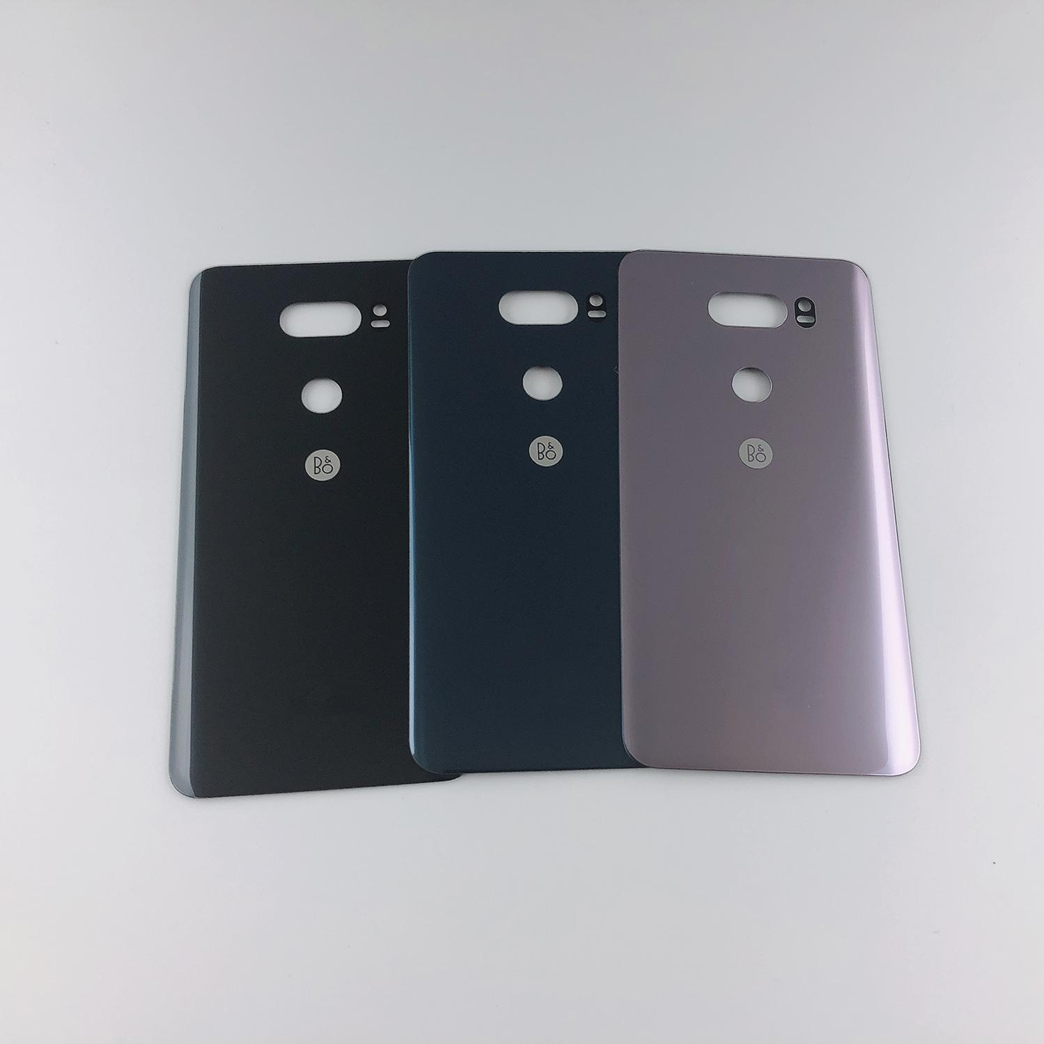 Original For LG V30+/V30 VS996 LS998U H933 LS998U H930 Housing Back Glass Battery Cover + Sticker